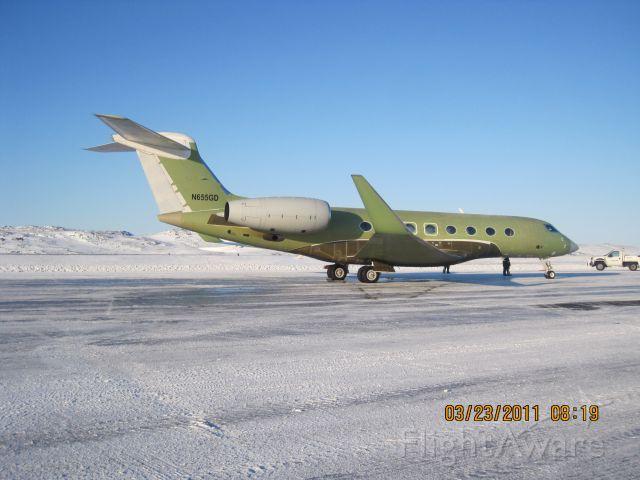 Gulfstream Aerospace Gulfstream G650 (N665GD)