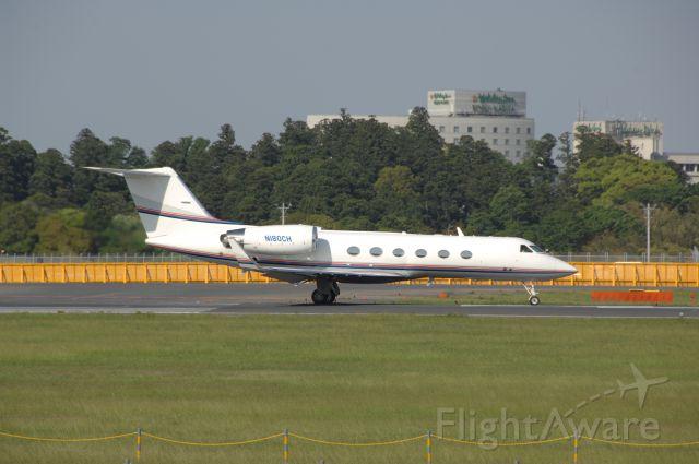 Gulfstream Aerospace Gulfstream V (N180CH) - Departure at Narita Intl Airport 16R on 2008/5/6