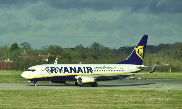 Boeing 737-800 (EI-EFI) - Ryanair Boeing 737-8AS(WL) EI-EFI in London Stansted