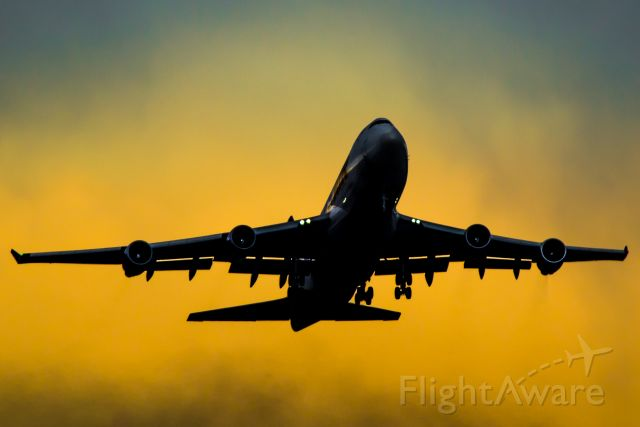 Boeing 747-400 (N477MC) - All hail the Queen!<br /><br />Departing Calgary for Travis AFB.