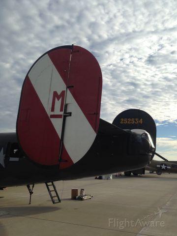 Consolidated B-24 Liberator (NX224J) - Collins Foundation B-24 at Charleston Executive Airport on Saturday, 31 Oct 15.