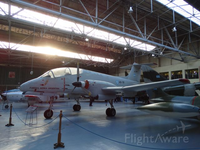 AX01 — - FMA IA-58A Pucara (Museo Nacional de Aeronautica / Morón - Argentina)