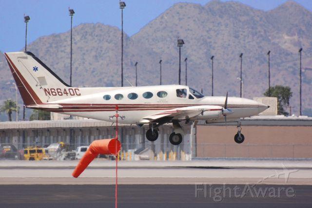 Cessna Chancellor (N6640C) - Operating as Lifeguard Gallup Med Flight
