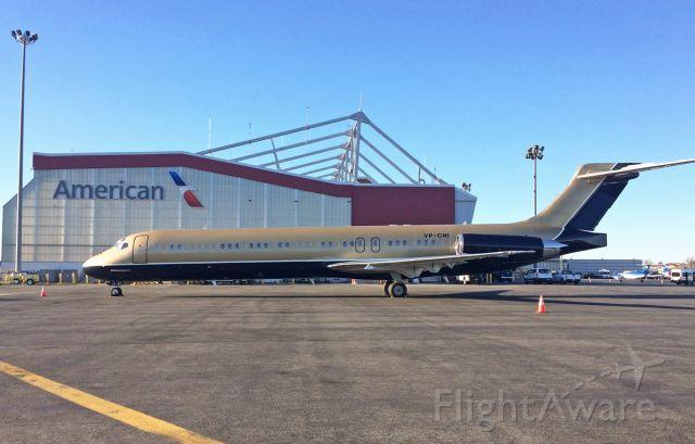 McDonnell Douglas MD-87 (VP-CNI) - 11/13/2016 visitor to Boston