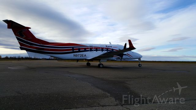Beechcraft 1900 (N972EA) - 972 in Galena