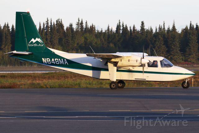 ROMAERO Islander (N848MA)