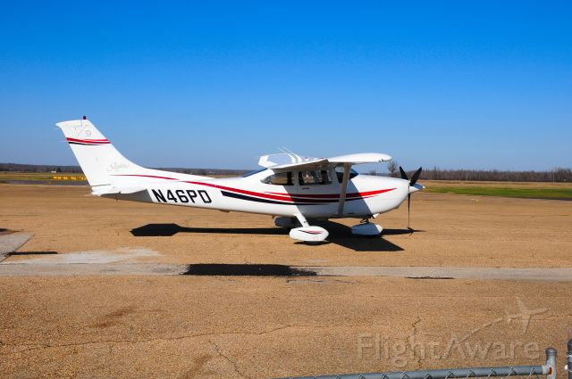 Cessna Skylane (N46PD) - Parked at the Poplar Bluff airport