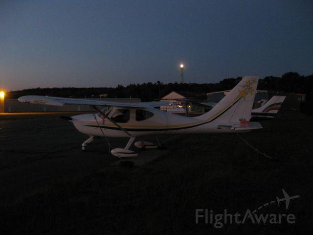 STODDARD-HAMILTON SH-4 GlaStar (N6AL) - Parked by Autumn Air Services.