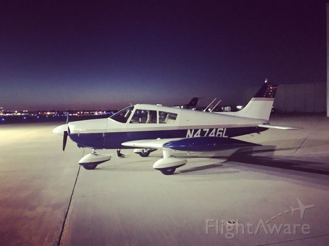 Piper Cherokee (N4746L) - Parked at KLIT