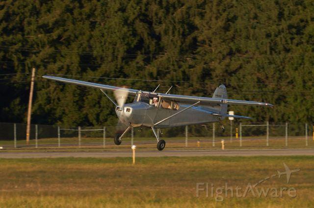Cessna 170 (N1646D) - Departing Runway 26