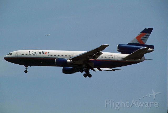 McDonnell Douglas DC-10 (C-GCPH) - Final Approach to Narita Intl Airport Rwy34 on 1993/05/04