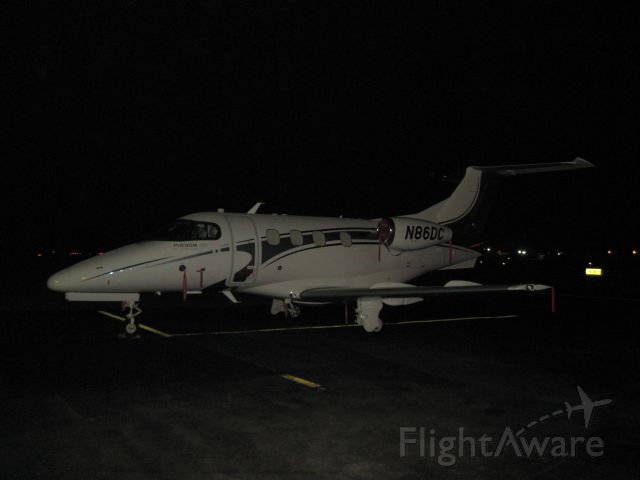 Embraer Phenom 100 (N86DC) - Beautiful new Phenom 100 sleeping in Natchitoches, LA