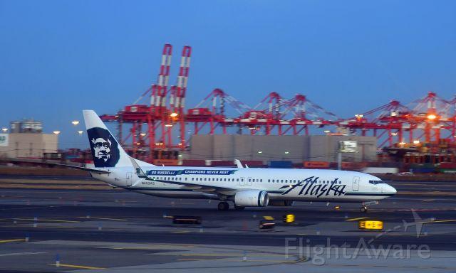 Boeing 737-900 (N453AS) - Alaska Airlines Boeing 737-990(ER) N453AS in Newark