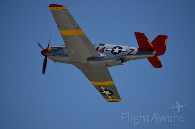 North American P-51 Mustang (AMU61429) - EAA 2011 P-51B