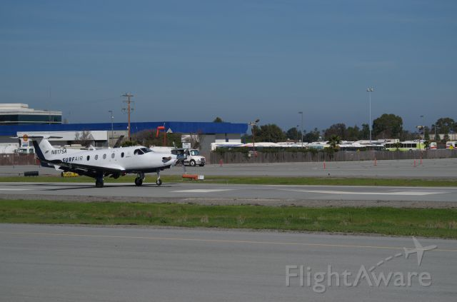 Pilatus PC-12 (N817SA) - N817SA