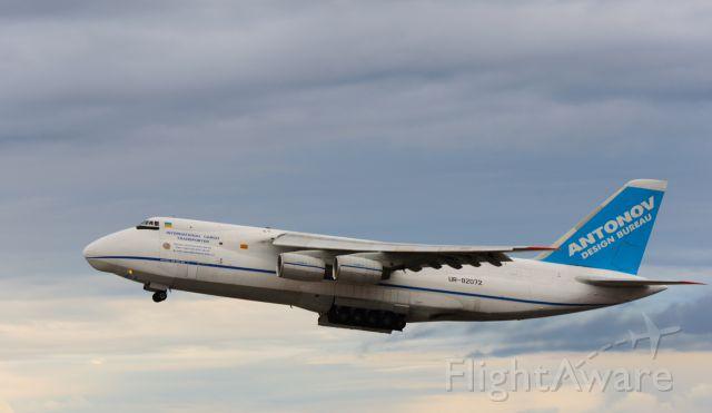Antonov An-124 Ruslan (UR-82072) - ADB2854 A124 off runway 08.