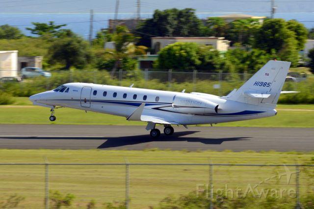 Cessna Citation Sovereign (HI985) - Citation Sovereign taking off RW 11 at TQPF
