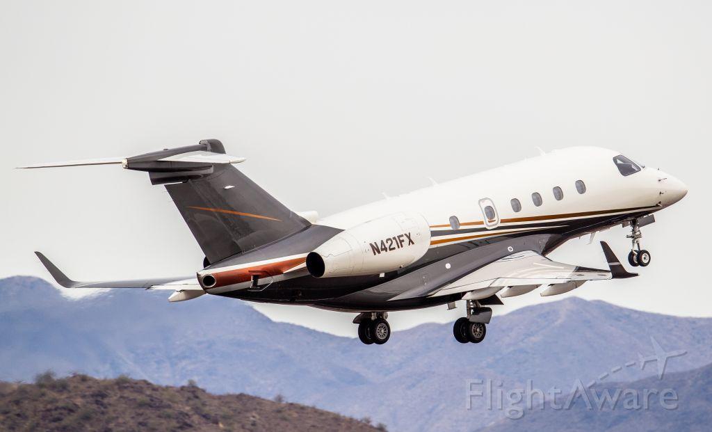 Embraer Legacy 450 (N421FX) - Spotted at KDVT on December 24, 2020