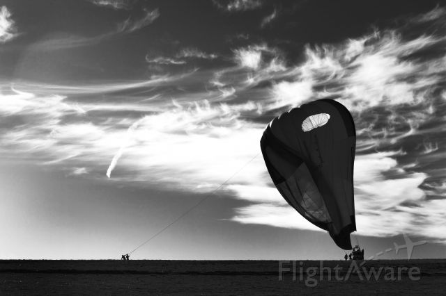 Unknown/Generic Balloon (VH-VLB) - Deflation after a morning flight