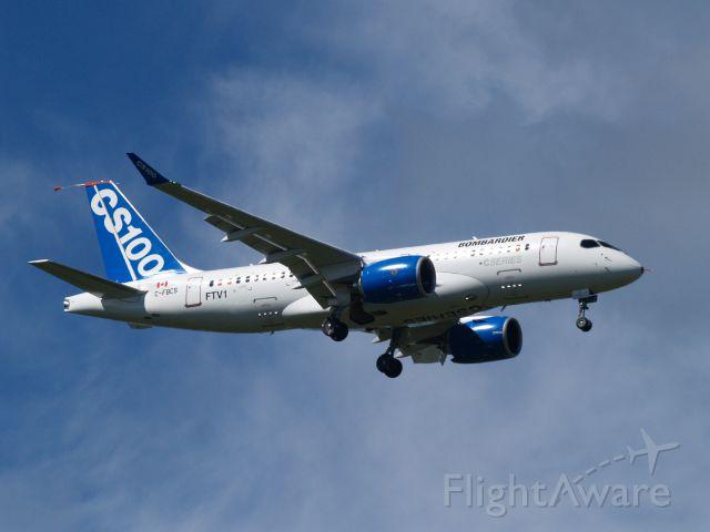 Bombardier CS100 (C-FBCS) - CS100