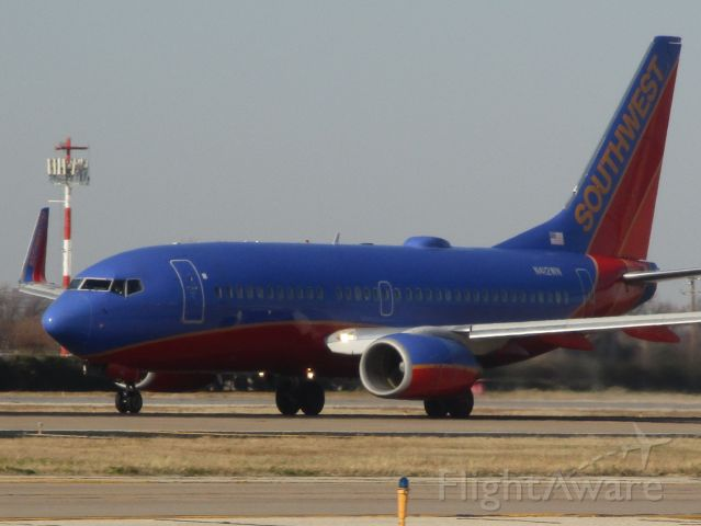 Boeing 737-700 (N412WN) - Southwest flight 1243 departing to Columbus, OH