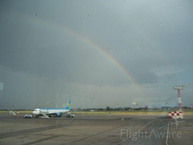 "— — - Международный аэропорт ""Ташкент"" (2 марта 2005 года)"