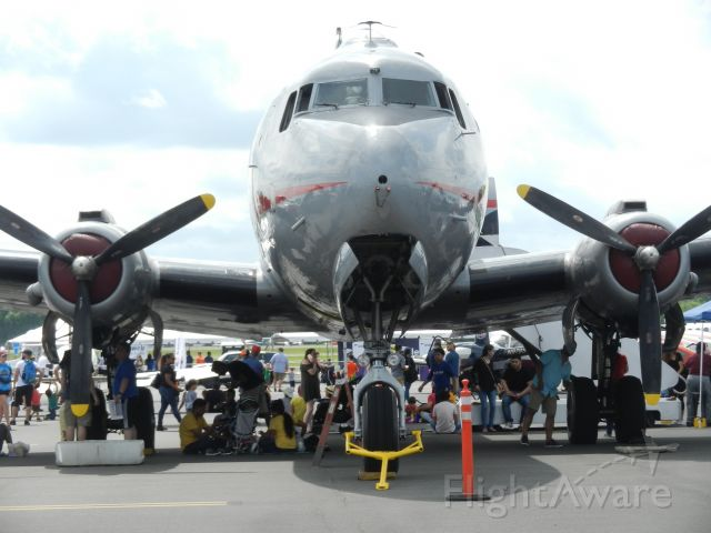 """Douglas C-54 Skymaster (N500EJ) - N500EJ, """"Sprit Of Freedom"""" Douglas C-54 Skymaster, On Display At The Manassas Airshow 2019, I Walked by her SO Many times throughout the day! Shes such a fantastic airplane! :)"""