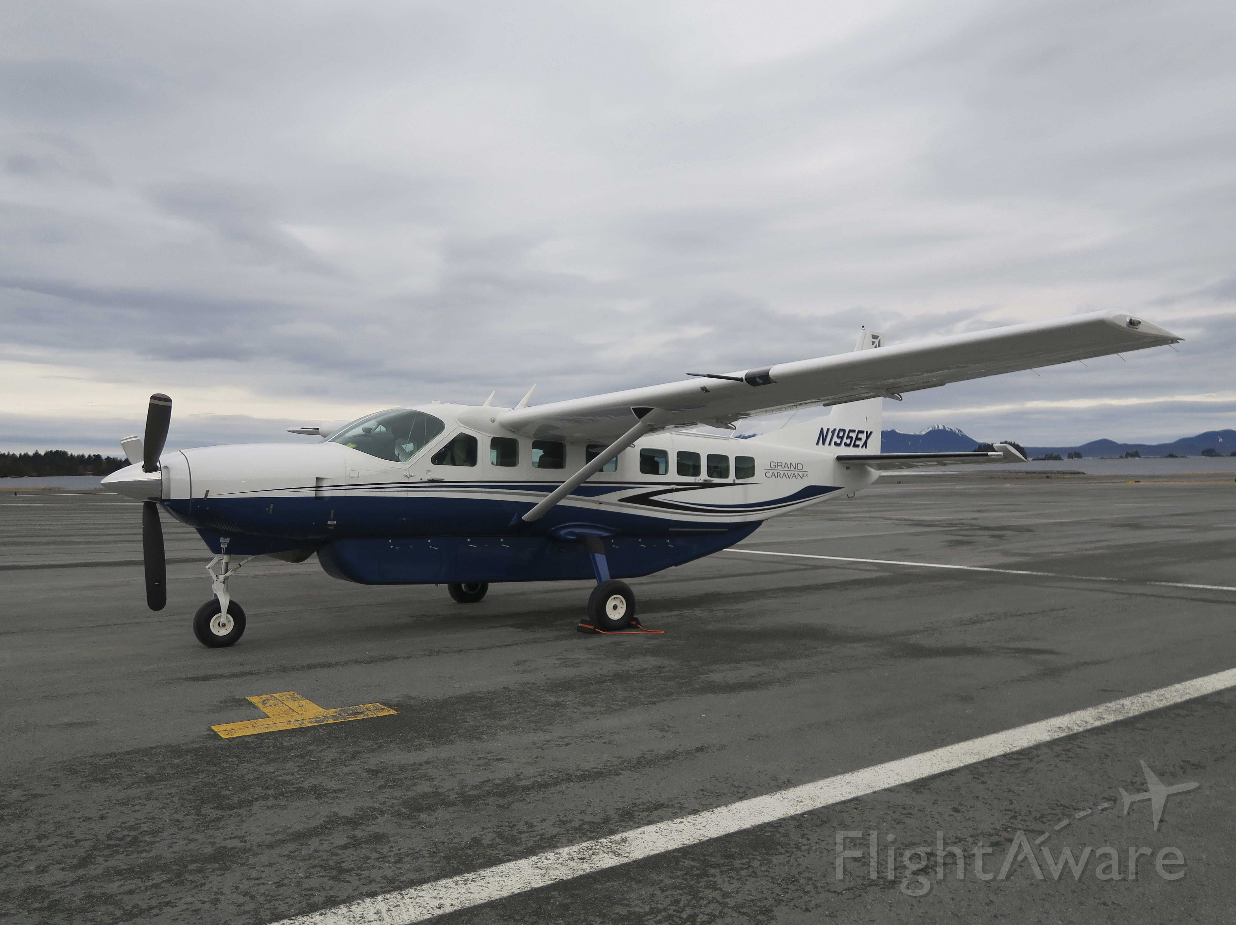 Cessna Caravan (N195EX) - On a ferry flight from Singapore to Wichita, USA. 10 JAN 2016.