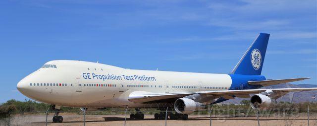 BOEING 747-100 (N747GE) - 22 Jun 2019<br />Pima Air and Space Museum, Tucson, AZ