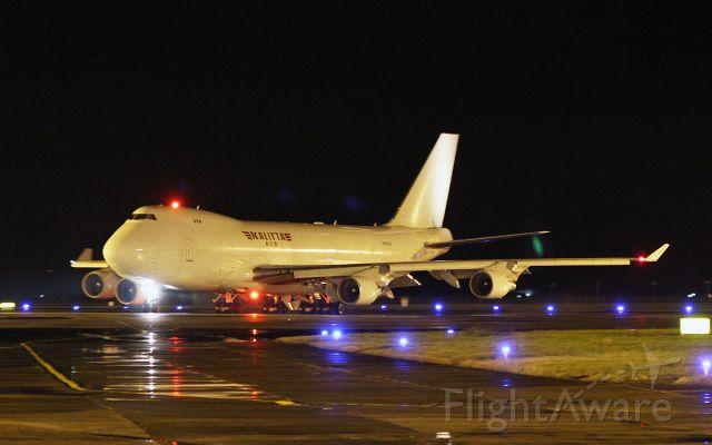 Boeing 747-400 (N701CK) - kalitta air b747-4b5f n701ck dep shannon tonight 16/2/18.