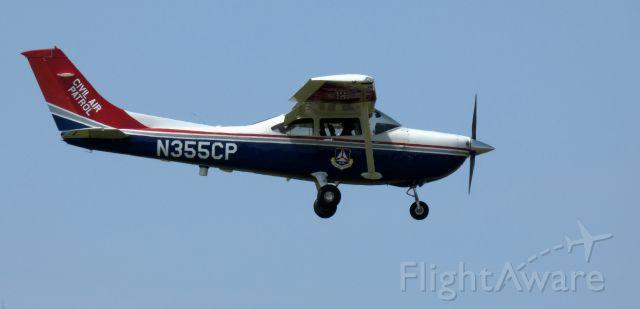 Cessna Skylane (N355CP) - On final is this 2005 Cessna Skylane 182T in the Spring of 2020.