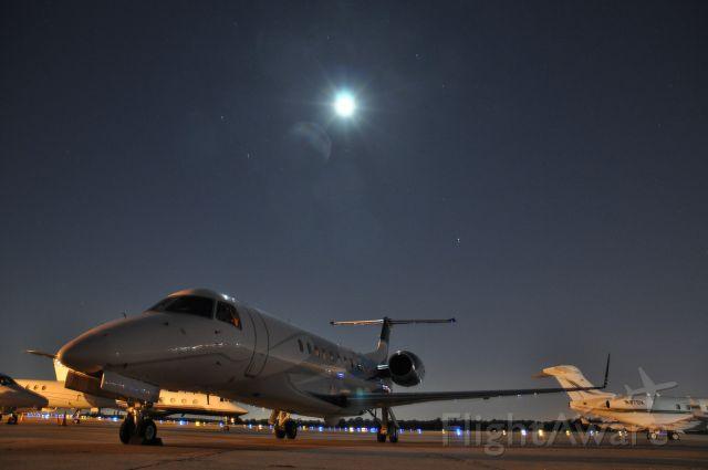 Embraer ERJ-135 (N6GD) - Night shot taken in KPIE