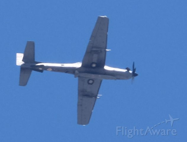 AVANTAGE A-29 — - A-29B Super Tucano (EMB-314) of the Brazilian Air Force at about 14,000' MSL over Lone Pine, California on June 5, 2019.