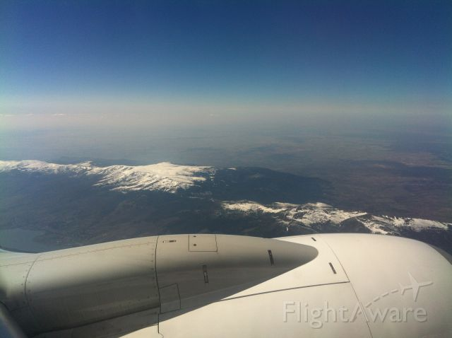 Boeing 737-700 — - Over Navacerrada mountains