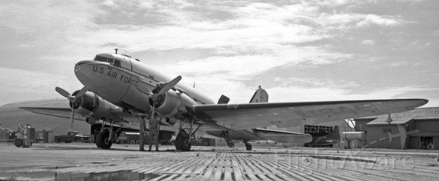 Douglas DC-3 — - C47 at Osan AFB Korea 1969