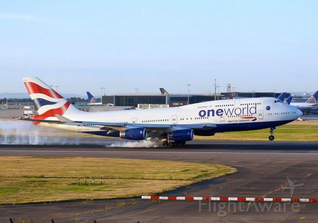 Boeing 747-400 (G-CIVL)