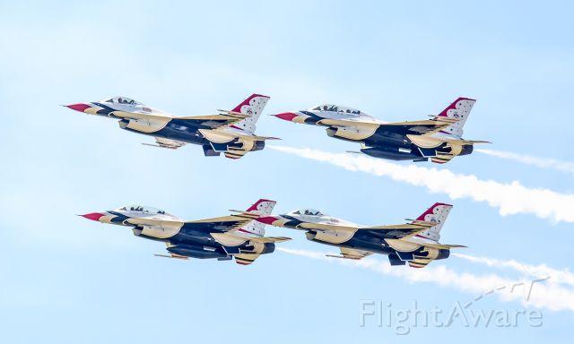 — — - Thunderbirds