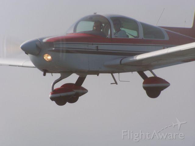 Grumman AA-5 Tiger (N4552L) - Landing at KEET.