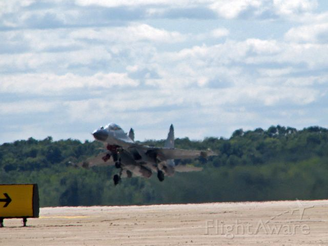 Sukhoi Su-27 Flanker — - Indian AirForce SU-30 blasts off from RFD