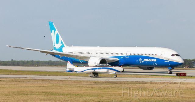 Boeing 787-8 — - Maiden Test Flight from Charleston, SC