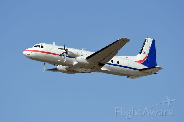 — — - ROKAF HS-748, ROKAF purchased two of the HS-748 mid 70s using VIP transport.