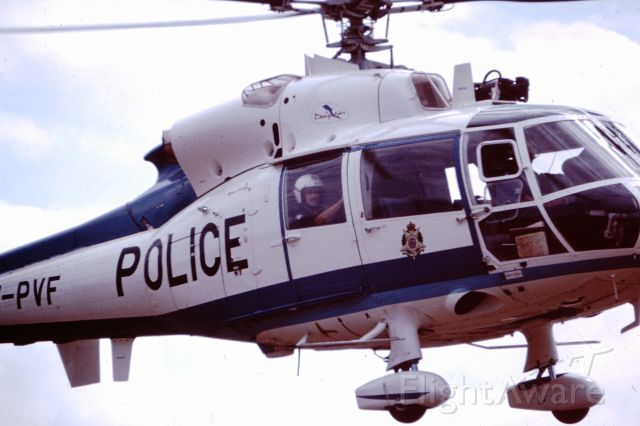 VH-PVF — - Taken at Lilydale Air Show 1982. VH-PVF was the first helicopter operated by the Victoria Police Force, Victoria Australia.  Now mothballed near Maryborough Vic awaiting possible restoration.