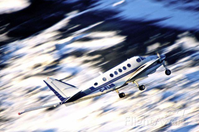 Beechcraft King Air 100 (C-FLRB) - Current Status De-registeredbr /1972 Beech A100 King Air C/N B-131