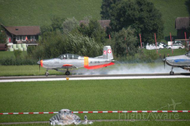 — — - Pilatus PC-3 (1 Agosto 2014 - PC-24 ROLLOUT)