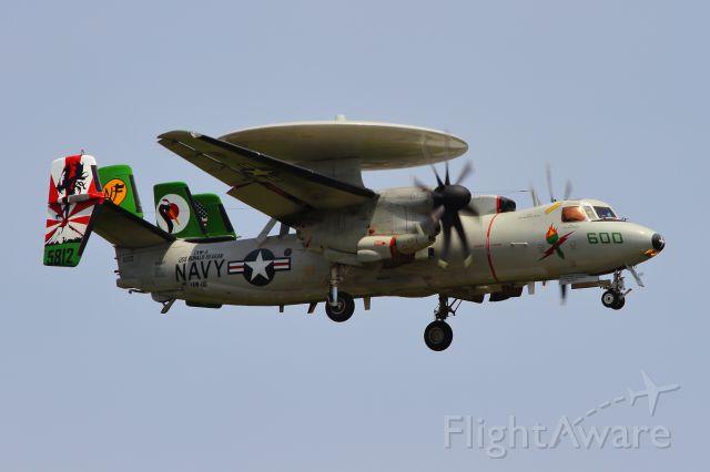 Grumman E-2 Hawkeye (16-5812)