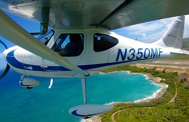 OMF Symphony (N350MF) - Taking off from Puerto Plata, Dominican Republic (MDPP)