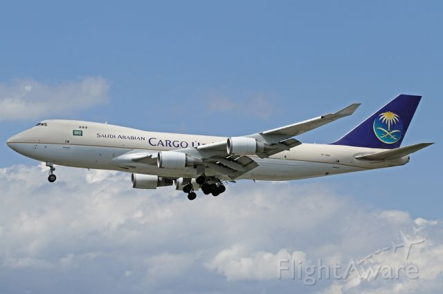 "Boeing 747-400 (TF-AMU) - ""Saudi Arabian Cargo"" livery"