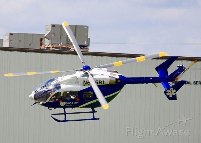KAWASAKI EC-145 (N685BL) - At Metro Aviation. Airbus Helicopters MBB-BK 117 C-2E