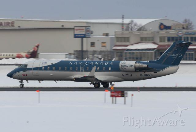 Canadair Regional Jet CRJ-200 (C-GNVC) - Departing Ottawa