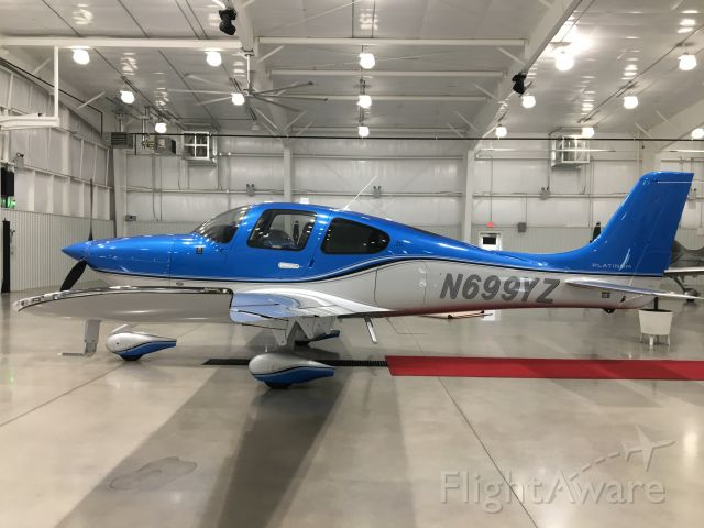 Cirrus SR-20 (N699YZ) - Picking up our New Cirrus SR20